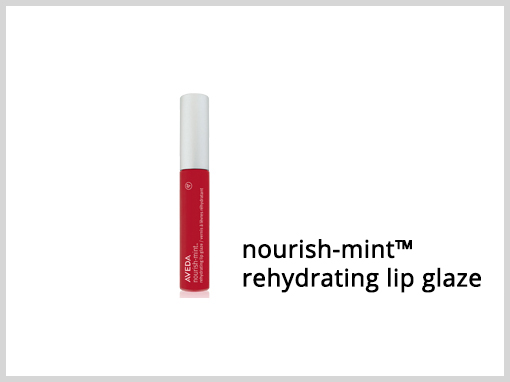 nourish-mint™ rehydrating lip glaze