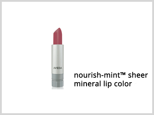 nourish-mint™ sheer mineral lip color